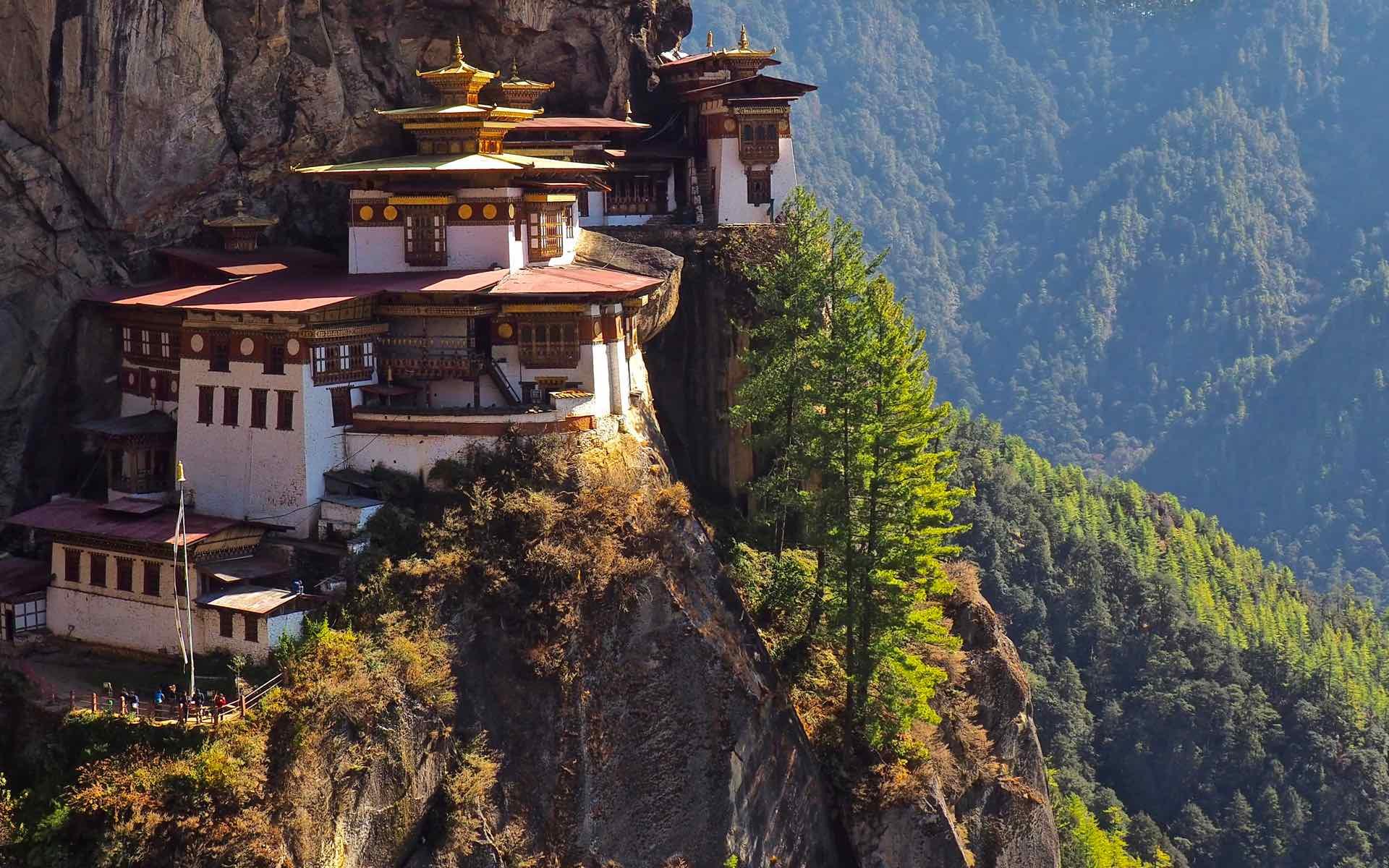 Tailor-made holidays to Asia. Tiger's Nest Monastery, Bhutan.