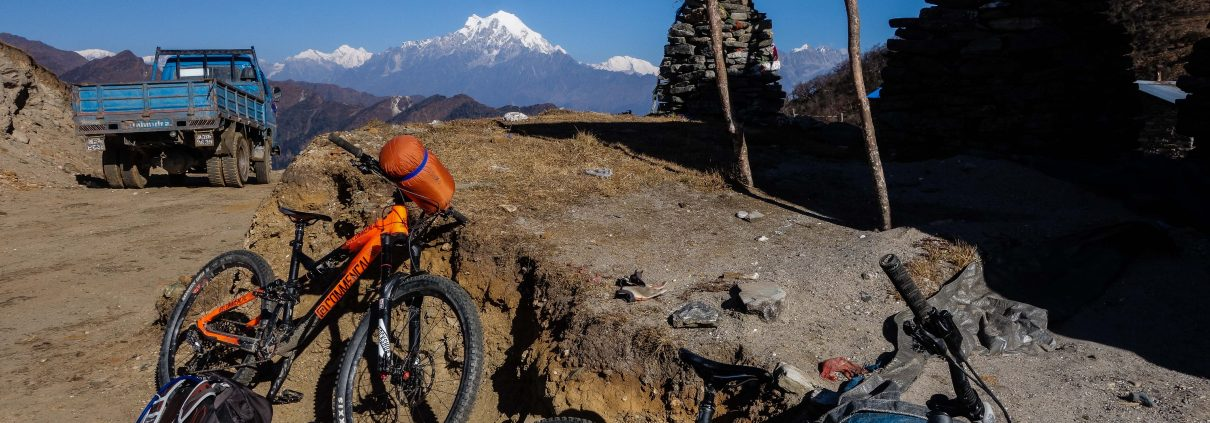 Nepal mountain biking adventure
